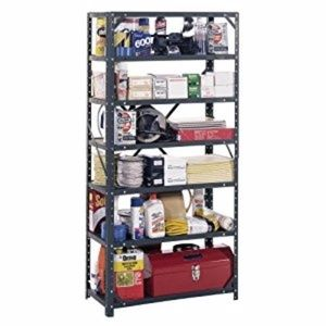 Used, steel 7 tier shelving storage organizer rack unitNWT for sale